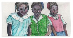 Shy Girls From South Alabama Beach Towel