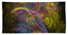 Beach Towel featuring the digital art Similkameen by Jeff Iverson