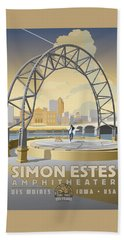 Simon Estes Amphitheater Beach Towel