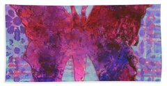 Sing Butterfly Beach Towel