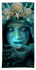 Sister Green Eyes Beach Sheet