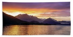Sitka Sunrise Beach Towel