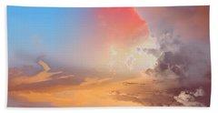 Sky Fight Beach Sheet