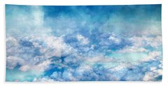 Sky Moods - A View From Above Beach Towel