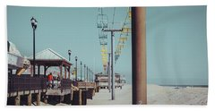 Beach Towel featuring the photograph Sky Ride by Steve Stanger