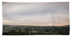 Beach Towel featuring the photograph Sky View by Juan Contreras