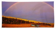 Skylane Rainbow Beach Towel