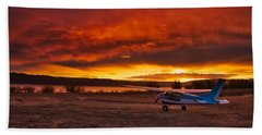Skylane Sunrise Beach Towel