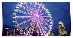 Skystar Ferris Wheel Beach Towel