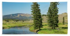 Slough Creek Beach Towel