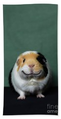 Guinea Pig Smile Beach Towel