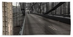 Smithfield Street Bridge Beach Towel