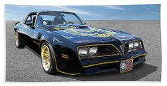 Smokey And The Bandit Trans Am Beach Towel