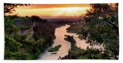 Snake River Sunset Beach Sheet
