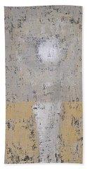 Snow Moon Original Painting Beach Towel