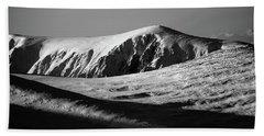 Snow On Cairngorm Beach Sheet