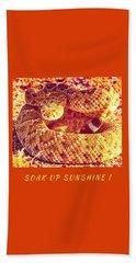 Soak Up Sunshine Beach Towel