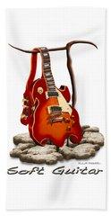 Soft Guitar - 3 Beach Towel
