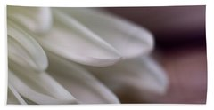 Soft White Petals-1 Beach Sheet