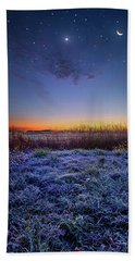 Beach Towel featuring the photograph Softly Spoken Prayers by Phil Koch
