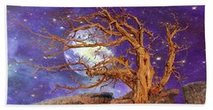 Somewhere In The Universe Beach Towel