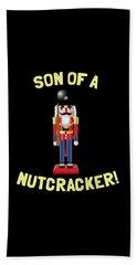 Son Of A Nutcracker Beach Sheet