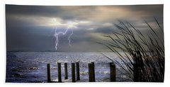 South Manistique Lake Michigan Beach Towel