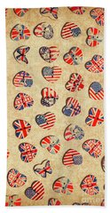 Sovereign State Sentiments Beach Towel