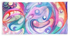 Space Abstract Beach Towel