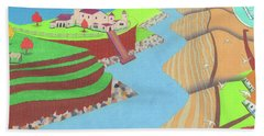 Spanish Wells Beach Towel