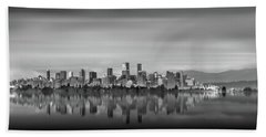 Special View Of Downtown Vancouver Beach Sheet