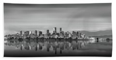 Special View Of Downtown Vancouver Beach Towel