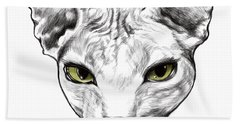Sphynx Beach Towel