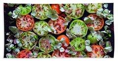 Spiced Tomatoes Beach Sheet