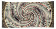 Beach Towel featuring the photograph Spinning A Design For Decor And Clothing by John M Bailey