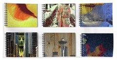 Spiral Notebooks Samples Beach Towel