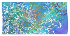 Spirals Beach Towel