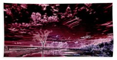 Spirits In The Night Beach Towel