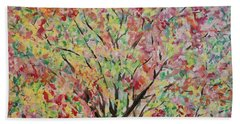 Spring Branches Beach Towel