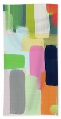 Spring Breeze- Art By Linda Woods Beach Towel
