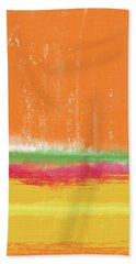 Spring Crush- Art By Linda Woods Beach Towel