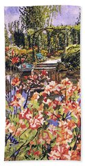 Spring Day In Giverny Beach Towel