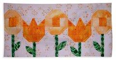 Spring Flowers Beach Towel