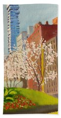 Spring In Worth St Beach Towel