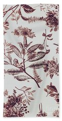Spring Ink Beach Towel