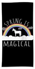 Spring Is Magical Beach Sheet