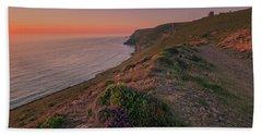 St Agnes Sunset Beach Towel
