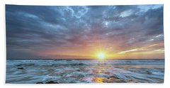 St. Augusting Sunrise  Beach Towel