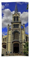 Beach Towel featuring the photograph St. Louis Cathedral by Tony Murtagh