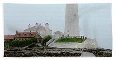 St Mary's Lighthouse Beach Towel